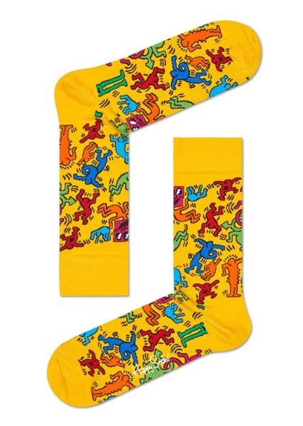 Giftbox (3-pak) Happy Socks x Keith Haring  XKEH08-4000