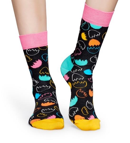 Giftbox (3-pak) skarpetki Happy Socks XEAS08-9000