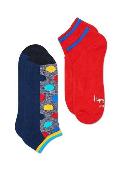 Skarpetki (2-pak) ATHLETIC LOW Happy Socks ATBDO02-9002