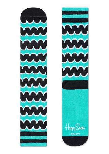 Skarpetki ATHLETIC Happy Socks ATSQU27-7000