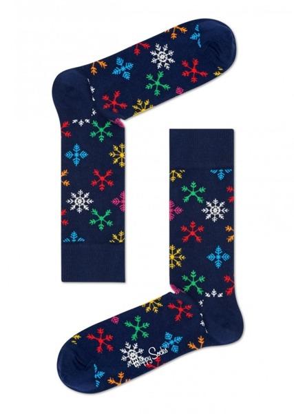 Skarpetki Happy Socks Holiday Singles Snowflake SNF01-6000